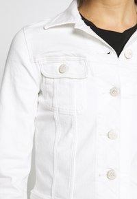 Lee - SLIM RIDER - Spijkerjas - white denim - 5