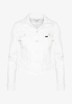 SLIM RIDER - Jeansjakke - white denim