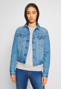 Lee - RIDER JACKET - Kurtka jeansowa - light baybridge - 0