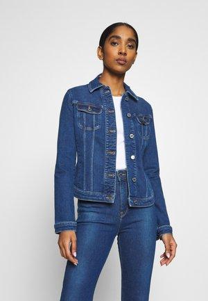 SLIM RIDER BODY OPTIX - Jeansjakke - jackson worn