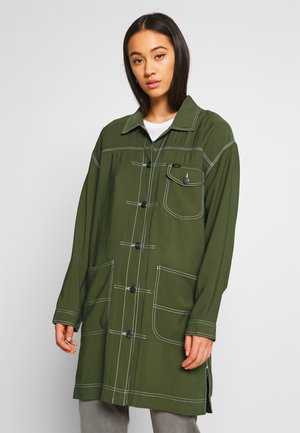 ELONGATED DUSTER - Manteau court - olive green