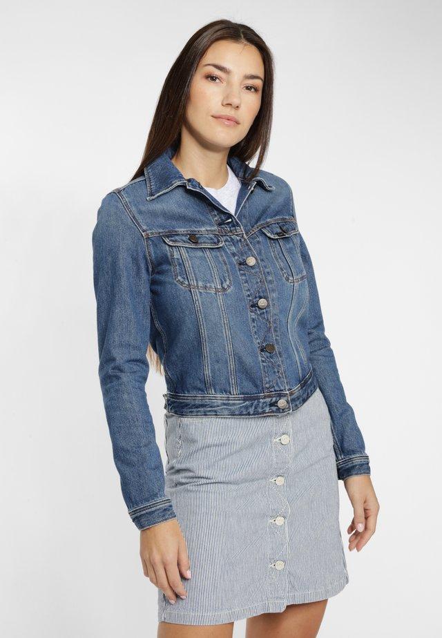 RIDER  - Kurtka jeansowa - blue