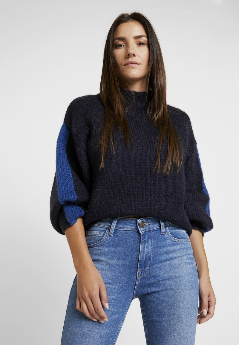 Lee - CHUNKY - Sweter - midnight navy