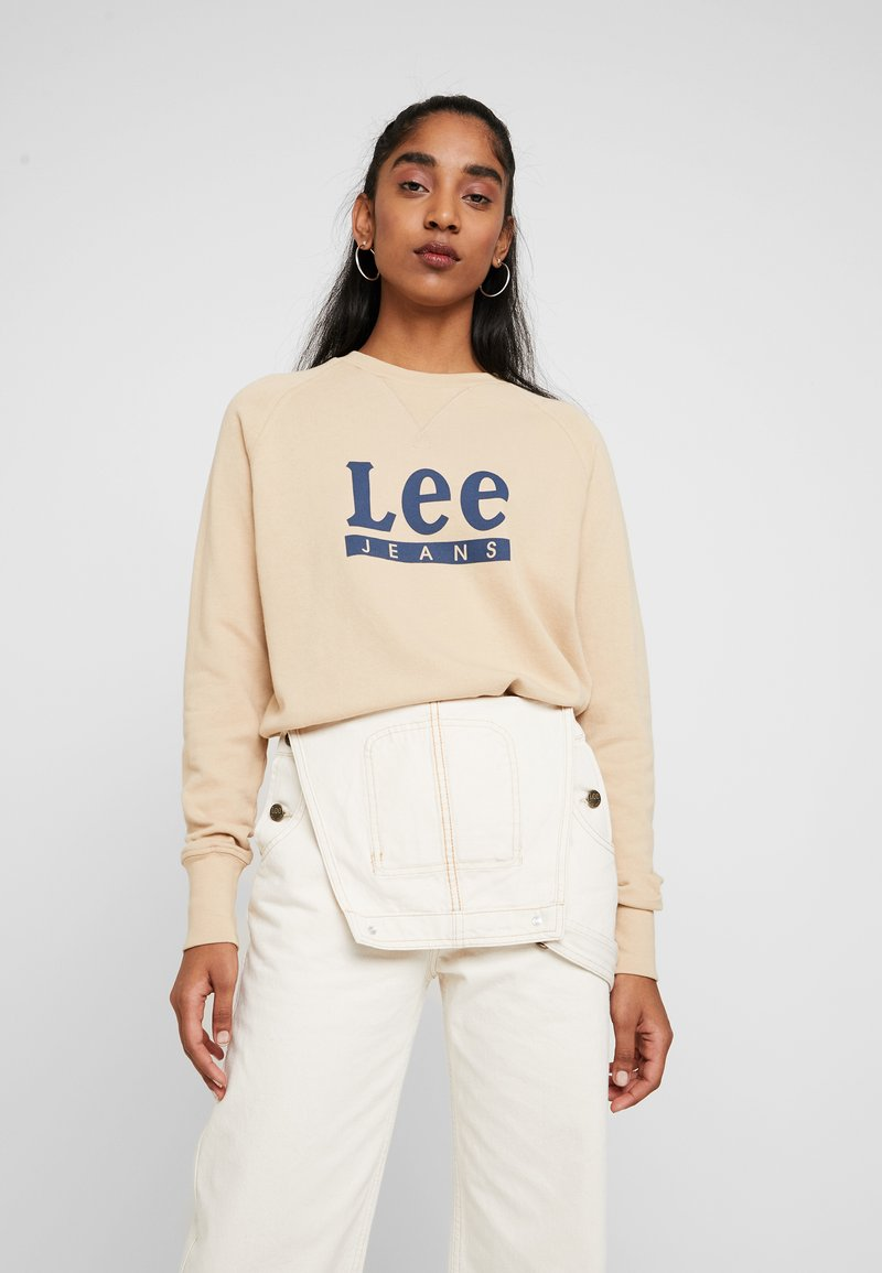 Lee - GRAPHIC - Sweatshirt - dust beige