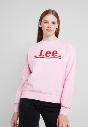 LOGO - Sweatshirt - frost pink