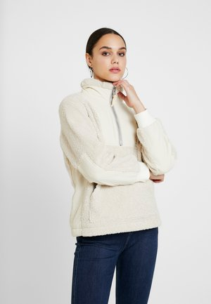 HALF ZIP - Mikina - off white
