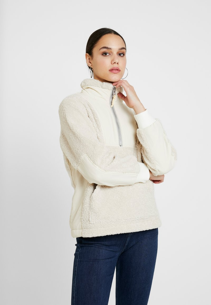 Lee - HALF ZIP - Sweatshirt - off white