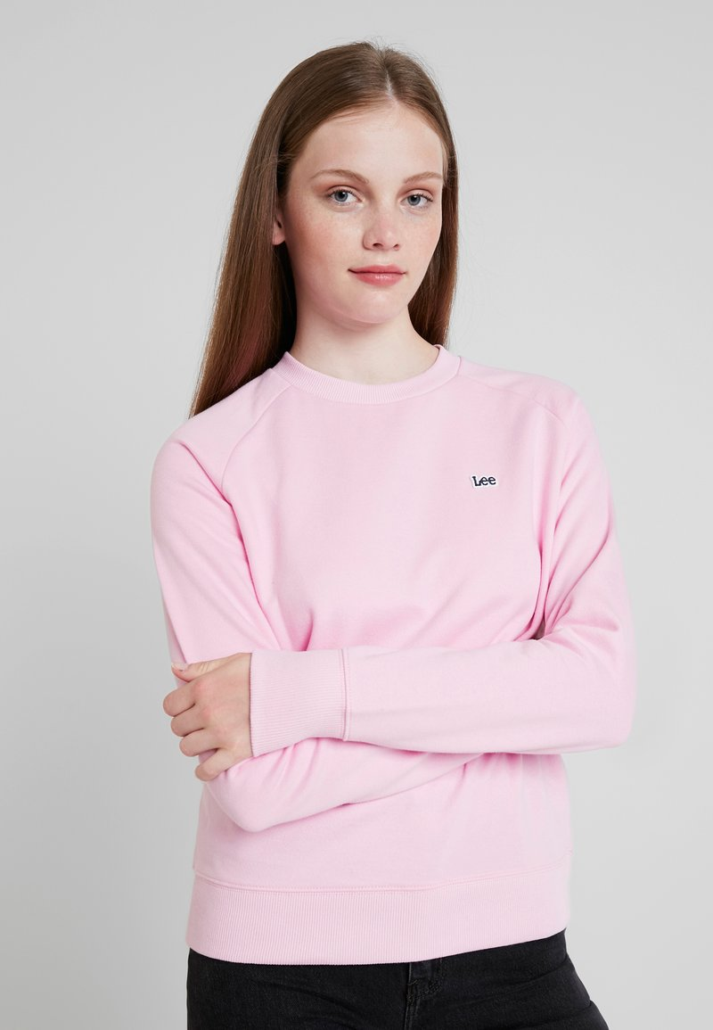 Lee - PLAIN CREW NECK - Sweatshirt - frost pink