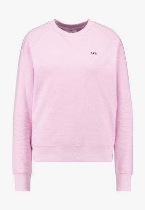 PLAIN CREW NECK - Felpa - frost pink