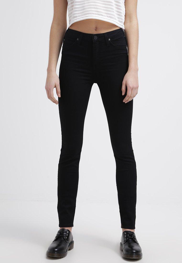 Lee - SKYLER - Jeans Skinny Fit - black rinse