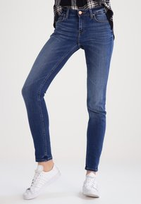 Lee - SCARLETT - Jeans Skinny Fit - midtown blues - 0