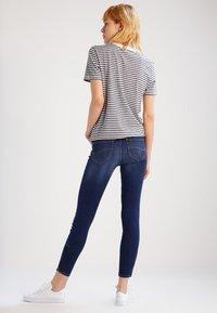 Lee - SCARLETT CROPPED - Jeans Skinny - night sky - 2