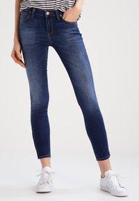 Lee - SCARLETT CROPPED - Jeans Skinny - night sky - 0