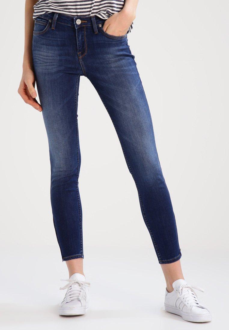 Lee - SCARLETT CROPPED - Jeans Skinny - night sky