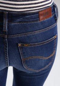 Lee - SCARLETT CROPPED - Jeans Skinny - night sky - 4