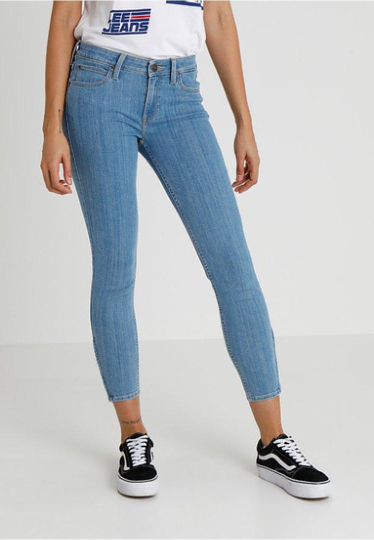 Lee CroppedJeans Skinny Scarlett Light Blue Aj43L5R