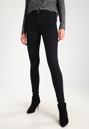 SCARLETT HIGH - Jeansy Skinny Fit - black rinse