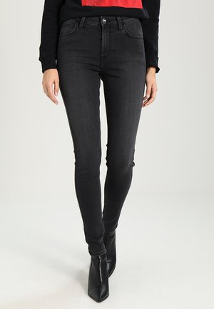 SCARLETT HIGH - Jeans Skinny Fit - black worn