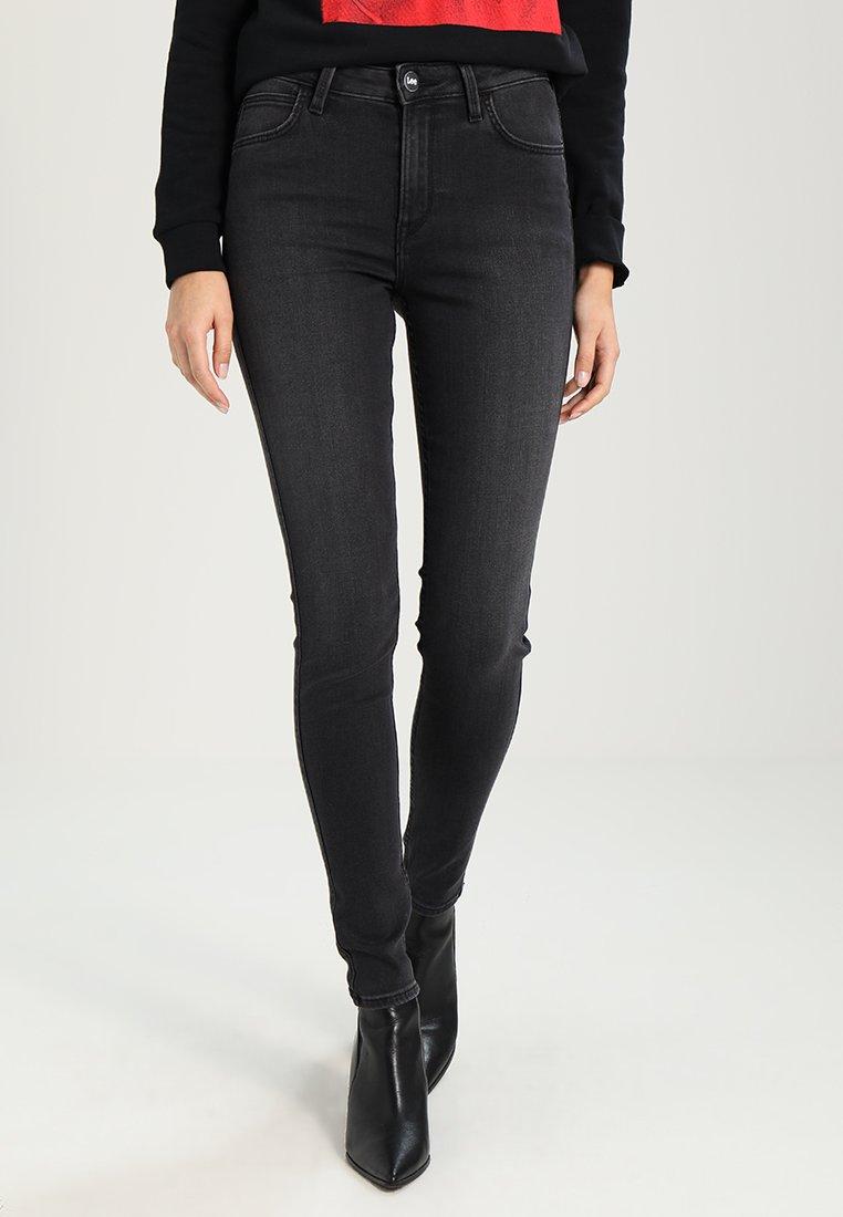 Lee - SCARLETT HIGH - Jeans Skinny - black worn