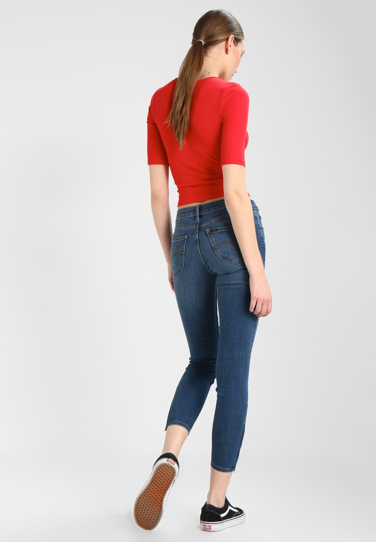 Lee SCARLETT CROPPED - Jeansy Slim Fit - ninety nine