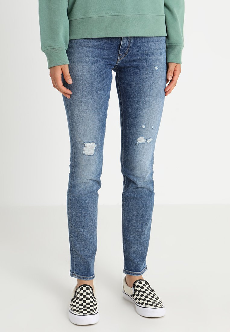 Lee - ELLY - Jeans Slim Fit - broken blue