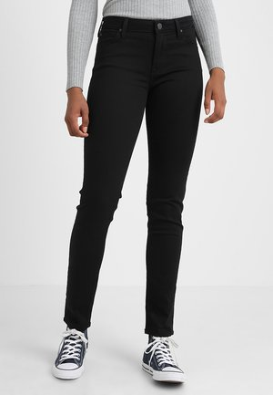 ELLY - Slim fit jeans - black rinse