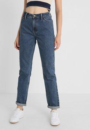 MOM STRAIGHT - Jeans straight leg - dark stonewash