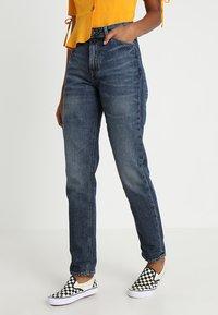Lee - MOM STRAIGHT - Jeans Straight Leg - vintage worn - 0