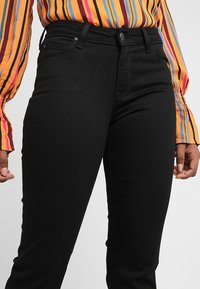 Lee - MARION STRAIGHT - Straight leg jeans - black rinse - 3