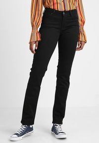Lee - MARION STRAIGHT - Straight leg jeans - black rinse - 0