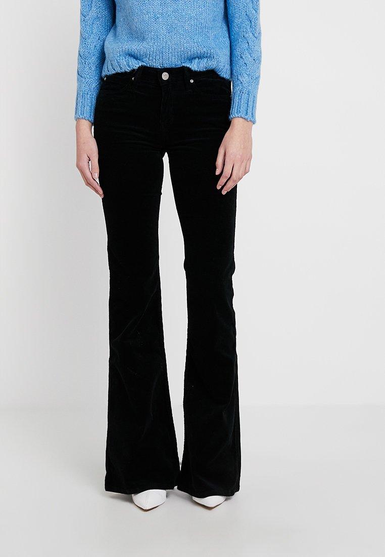 Lee - CHAFFEE - Flared Jeans - black