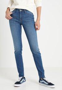 Lee - SCARLETT - Jeans Skinny Fit - stone blue denim - 0