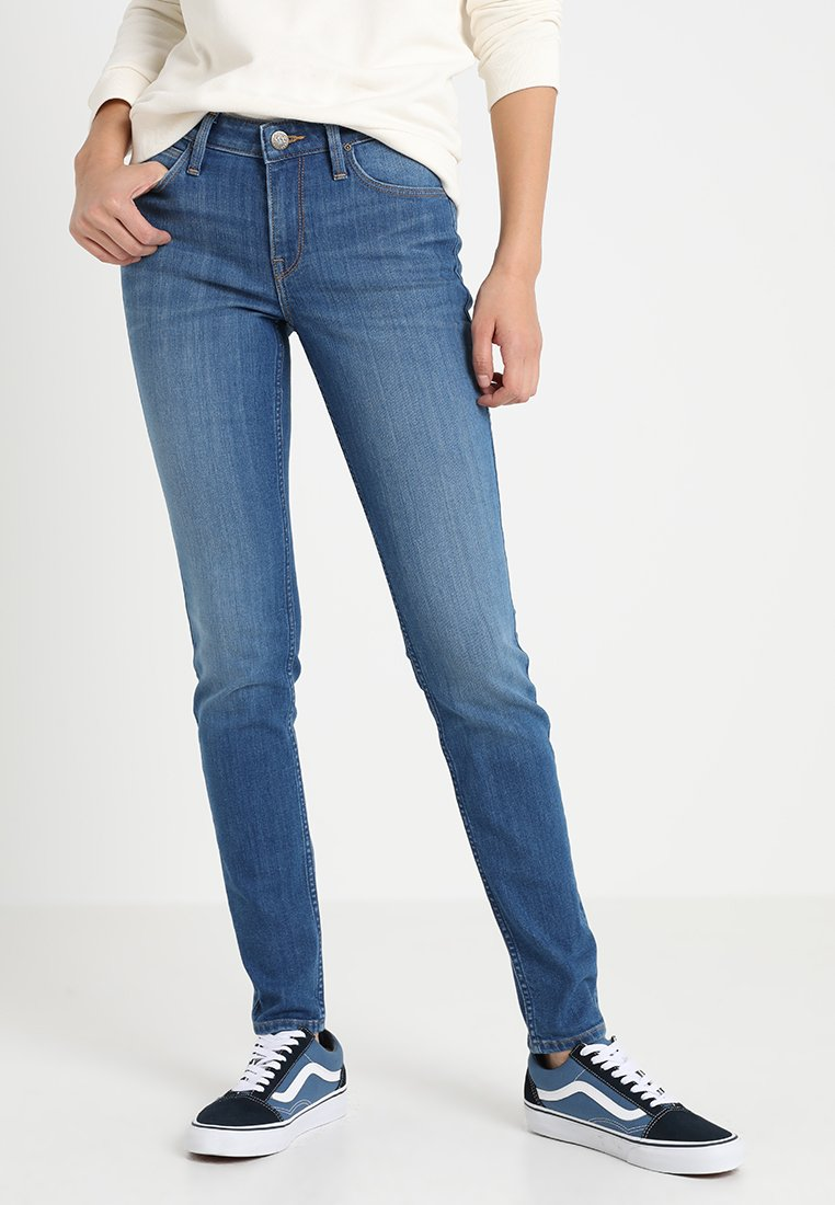 Lee - SCARLETT - Jeans Skinny Fit - stone blue denim