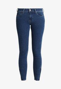 Lee - SCARLETT CROPPED - Jeans Skinny Fit - dark blue denim - 6