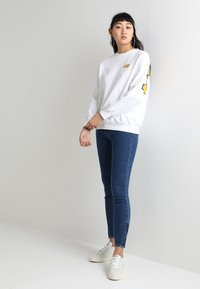 Lee - SCARLETT CROPPED - Jeans Skinny Fit - dark blue denim - 2