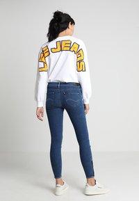 Lee - SCARLETT CROPPED - Jeans Skinny Fit - dark blue denim - 3