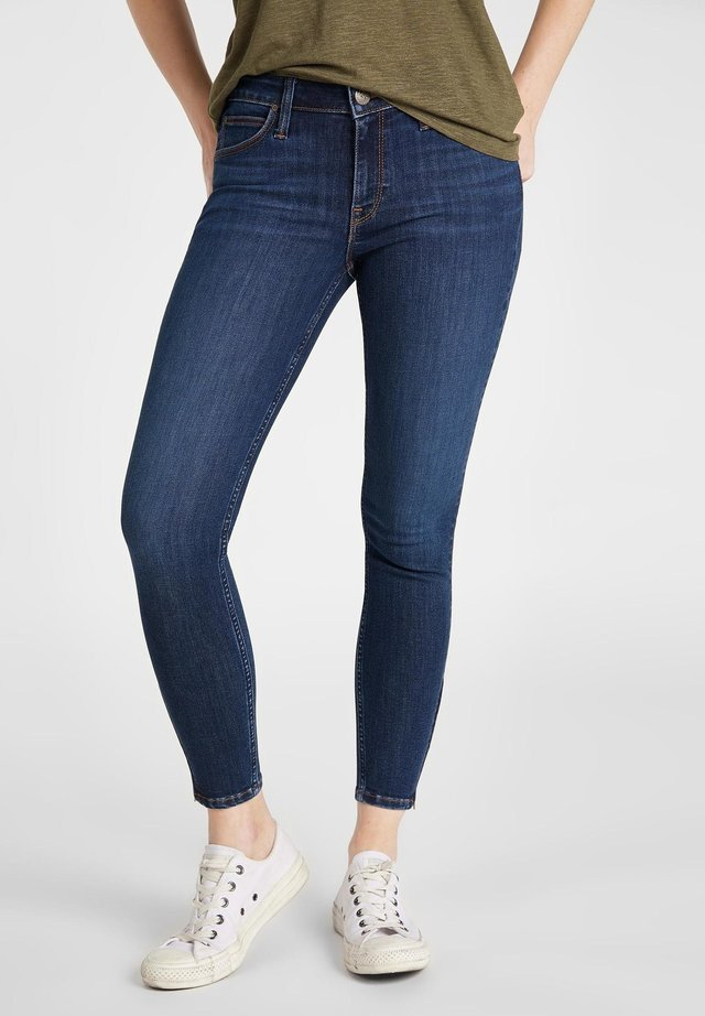 SCARLETT CROPPED - Jeansy Skinny Fit -  royal blue