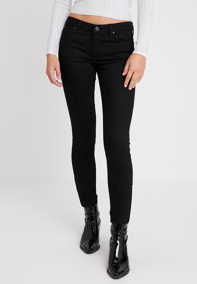 SCARLETT CROPPED - Jeansy Skinny Fit - black rinse