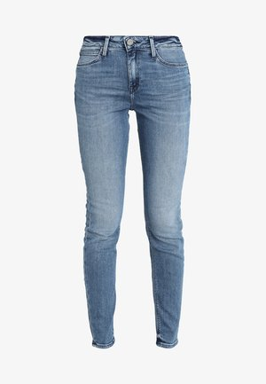 SCARLETT HIGH - Skinny-Farkut - stone blue denim