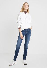 Lee - SCARLETT HIGH - Jeans Skinny Fit - dark used - 1