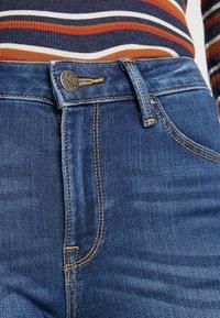 Lee - SCARLETT HIGH - Jeans Skinny Fit - dark used - 4