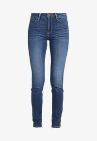 Lee - SCARLETT HIGH - Jeans Skinny Fit - dark used - 3