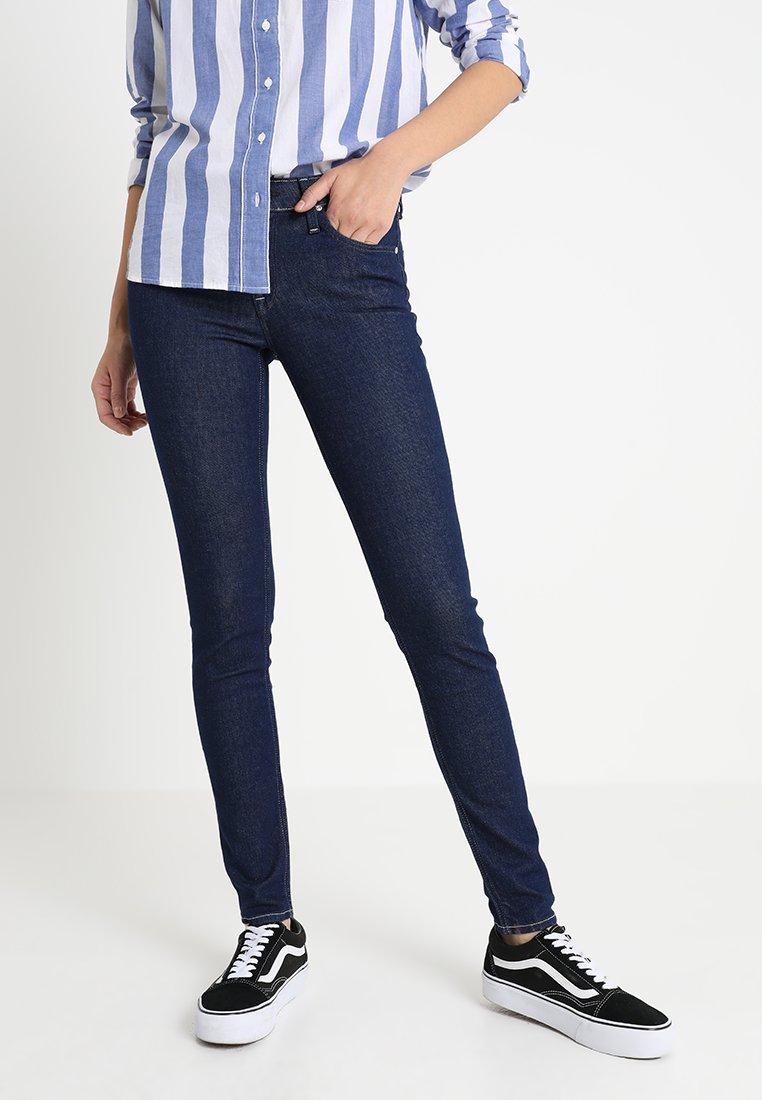 Lee - SCARLETT WORKER - Jeans Skinny Fit - rinsed denim