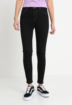 SCARLETT HIGH CROPPED - Jeans Skinny Fit - black rinse