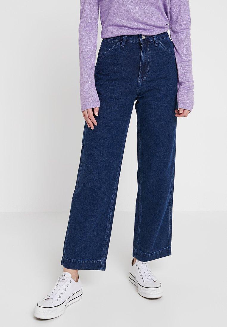 Lee - CARPENTER - Jeans Straight Leg - blue denim