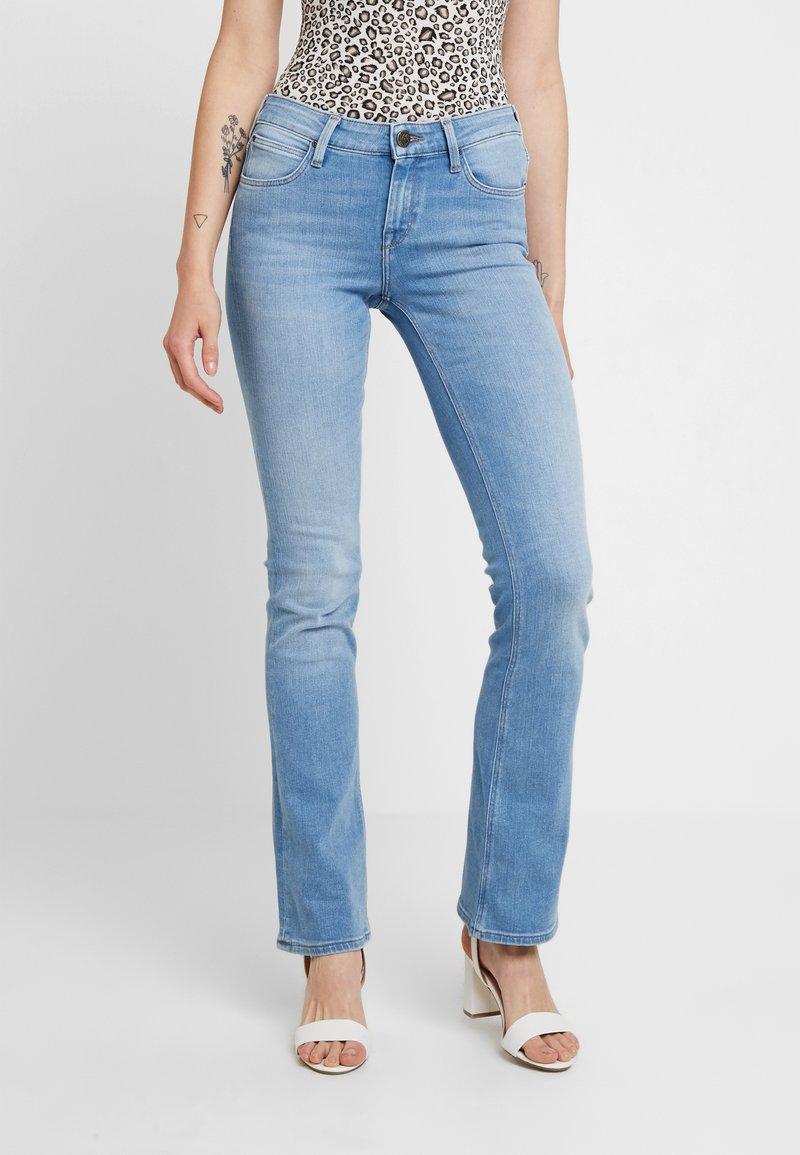 Lee - HOXIE - Bootcut jeans - broken blue