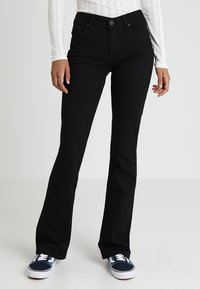 Lee - HOXIE - Jeans bootcut - black denim - 0