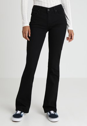 HOXIE - Bootcut jeans - black denim
