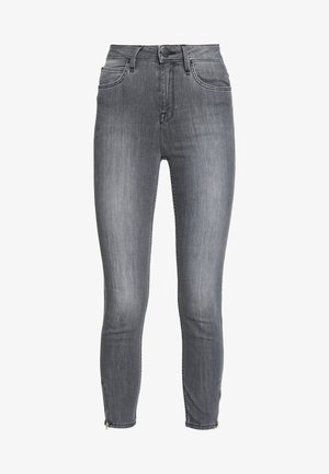 SCARLETT HIGH ZIP - Jeans Skinny - new grey