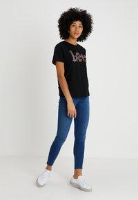 Lee - SCARLETT HIGH ZIP - Jeans Skinny Fit - blue denim - 1